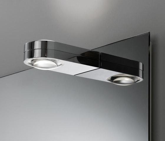 Spiegel style mit Aufbauleuchte Shy Duo by talsee | Mirror lighting