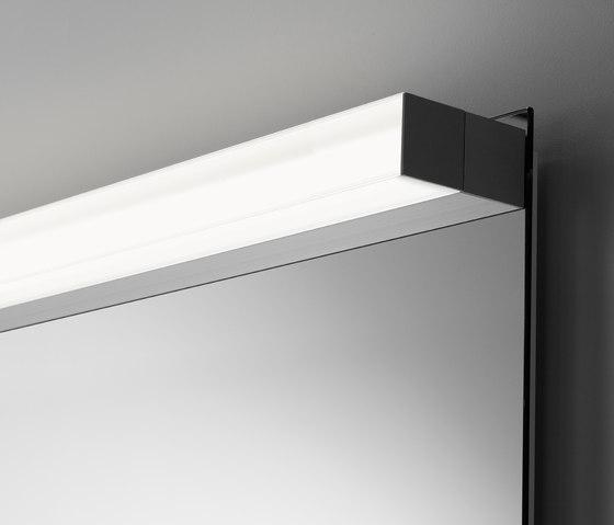 Spiegel style mit Aufbauleuchte SpinaQuick by talsee | Mirror lighting