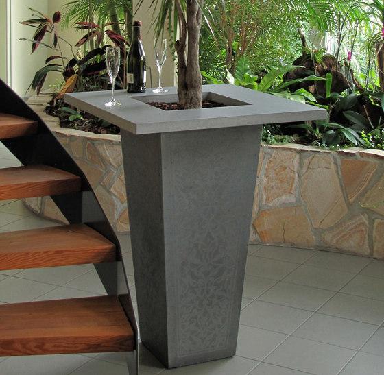 pflanzgef e von oggi beton calanthe stehtisch gongora. Black Bedroom Furniture Sets. Home Design Ideas