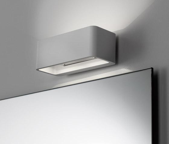 Spiegelwand mit Aufbauleuchte Wall by talsee | Bathroom lighting