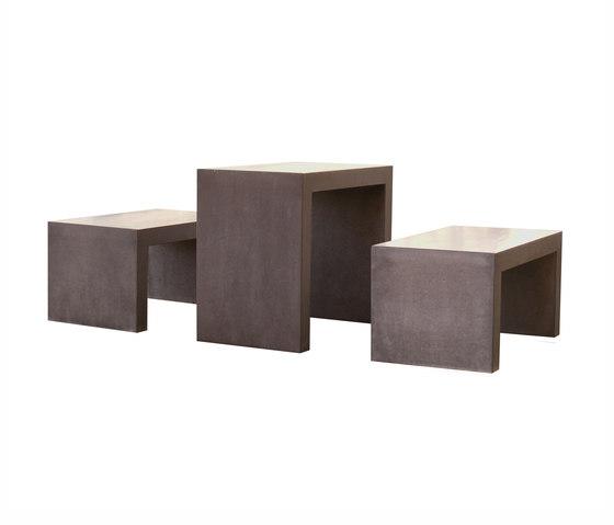 San Vito Concrete bench de OGGI Beton | Bancos de jardín