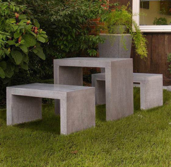 San Vito Concrete bench de OGGI Beton | Bancs de jardin