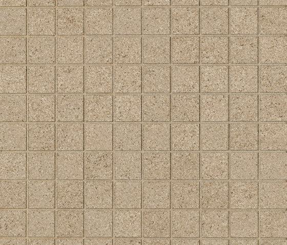 Slimtech Arenaria I Mosaico quadro caramel by Lea Ceramiche | Floor tiles