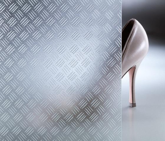 CriSamar® STEP Aluminium-X by Sevasa | Decorative glass