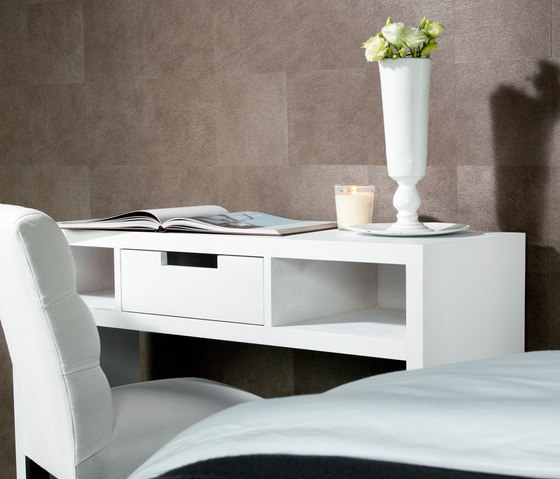 Allegro table with drawer by Nilson Handmade Beds | Night stands