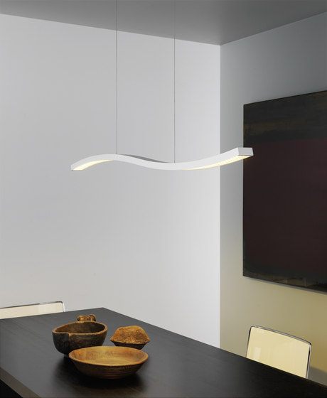Serpentine Suspension lamp by FontanaArte | General lighting
