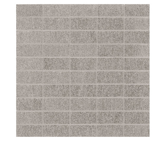 Slimtech Basaltina | Mosaico mattone sabbiata by Lea Ceramiche | Floor tiles