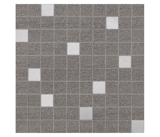 Slimtech Basaltina | Mosaico inox naturale by Lea Ceramiche | Floor tiles