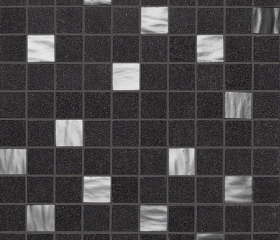 Slimtech Basaltina | Mosaico pearl stuccata by Lea Ceramiche | Floor tiles