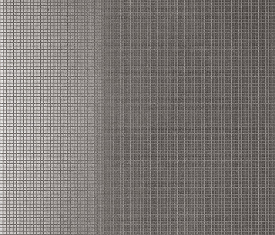 Slimtech Basaltina | Mosaico metal chiaro naturale by Lea Ceramiche | Floor tiles