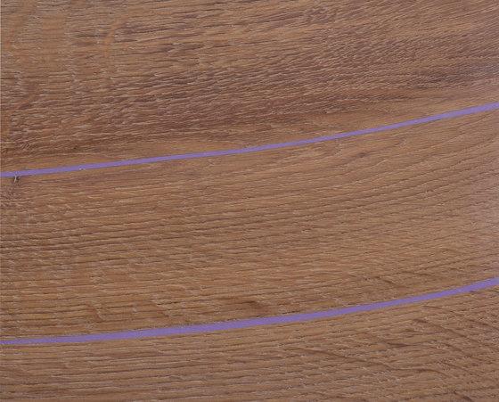 mafi Magic OAK wide-plank violet. hand-planed | white oil by mafi | Wood flooring