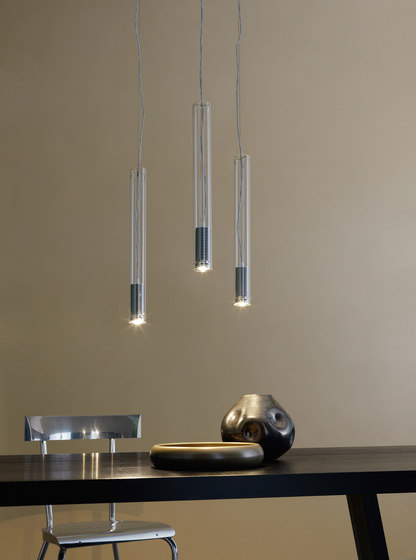 Tubo LED Suspension lamp by FontanaArte | General lighting