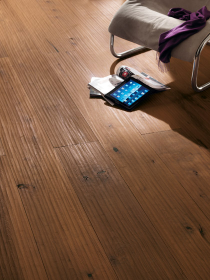 ROSSO Vulcano Riva Mezzo brushed | white oil by mafi | Wood flooring