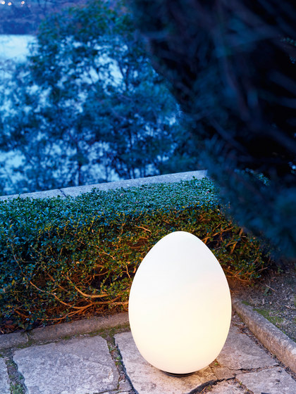 Uovo Outdoor by FontanaArte | Outdoor floor-mounted lights