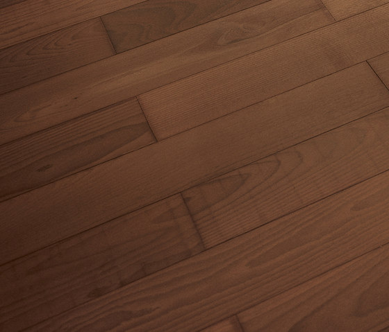 BEECH Vulcanino Dark sanded | natural oil by mafi | Wood flooring