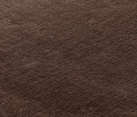 Studio NYC Polyester Edition solid brown by kymo | Rugs / Designer rugs