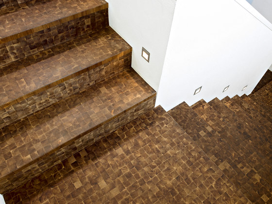 Domino LARCH Vulcano sanded | natural oil by mafi | Wood mosaics