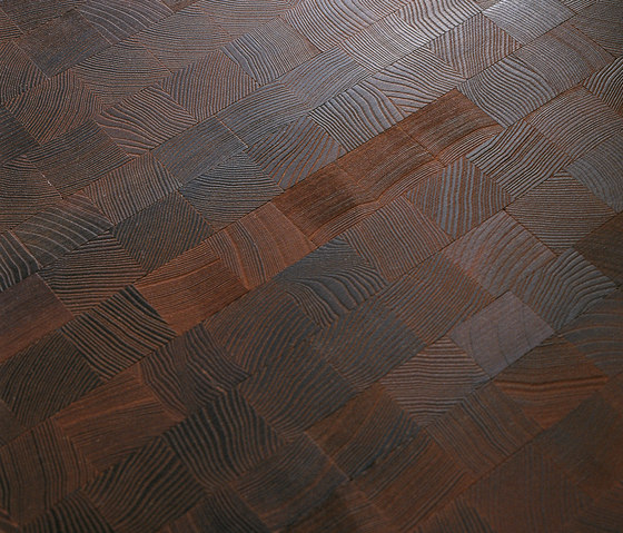 Domino ASH Vulcano sanded | natural oil by mafi | Wood mosaics