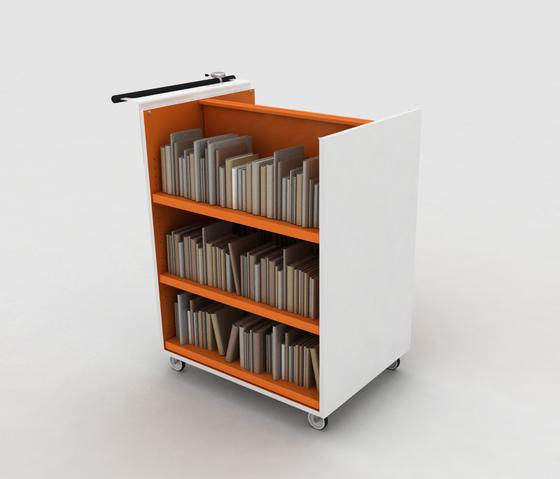 BK Trolley by IDM Coupechoux | Book trolleys