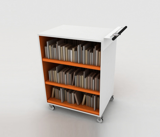 BK Trolley by IDM Coupechoux | Book trolleys