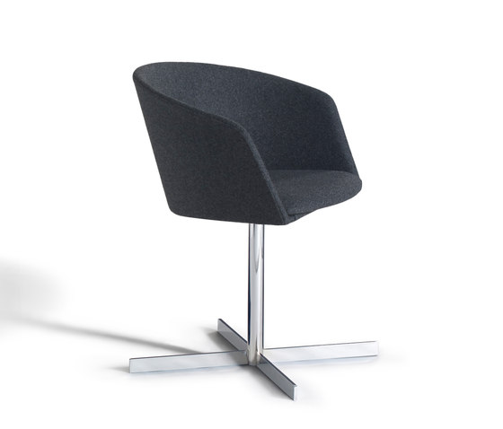 Moon Light 663 CRU by Capdell | Visitors chairs / Side chairs