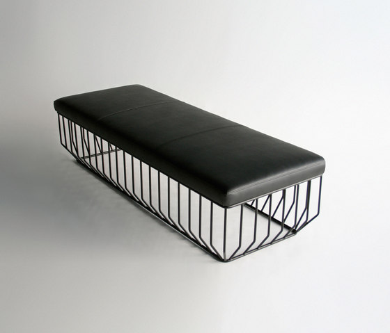 Wired Bench by Phase Design | Waiting area benches