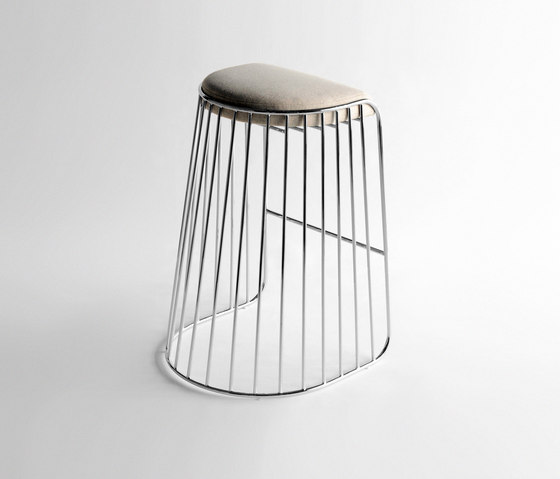 Bride´s Veil Barstool von Phase Design | Barhocker
