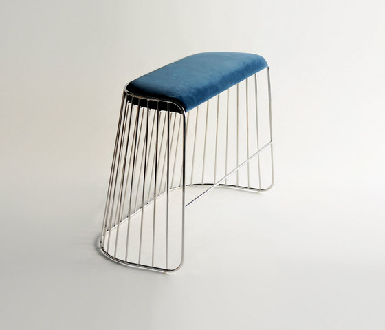 Bride's Veil Double Stool by Phase Design | Bar stools