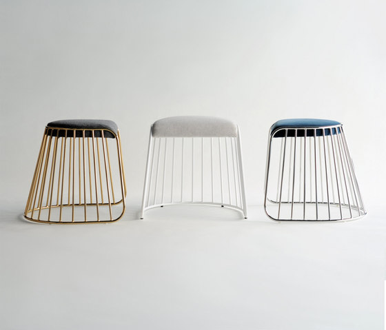 Bride S Veil Low Stool By Phase Design Architonic