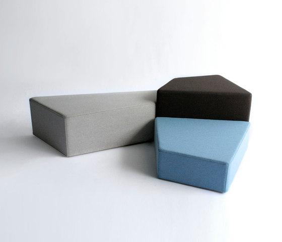 Pangaea by Phase Design | Modular seating elements