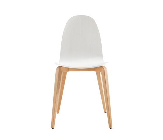 Bob Wood Chair von ONDARRETA | Restaurantstühle