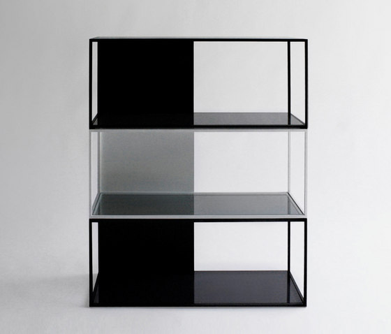 Half & Half Shelving by Phase Design | Shelving