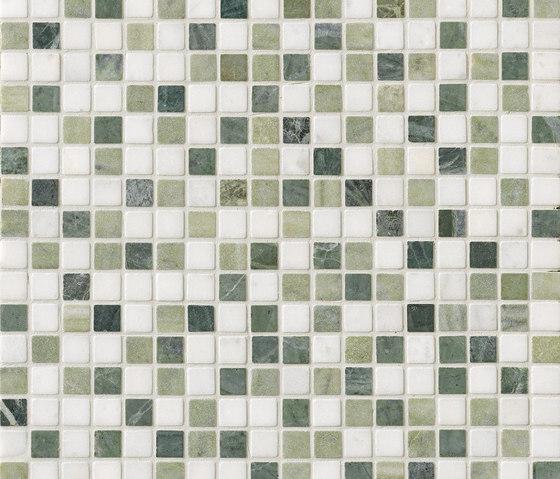 Tesserae I Quadro verde by Lea Ceramiche | Natural stone wall tiles