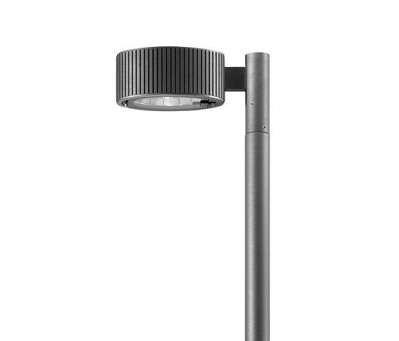 Novara OV LED Pole mounted luminaire with bracket simple by Hess | Spotlights