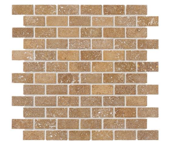 Tesserae I Muretto bruno by Lea Ceramiche | Natural stone tiles