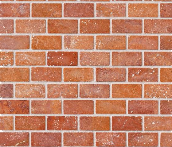 Tesserae I Muretto corallo by Lea Ceramiche | Natural stone wall tiles