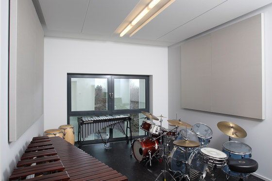 BaseLine│wall panel without frame by silentrooms | Sound absorbing wall systems