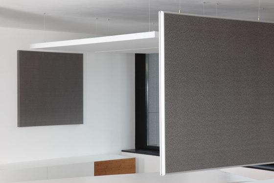 BaseLine│Wandpaneele ohne Rahmen von silentrooms | Wandpaneele