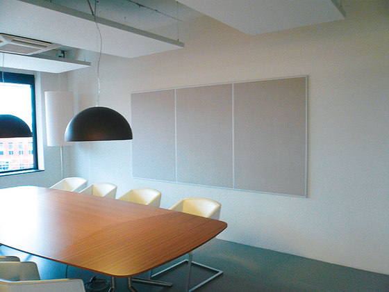 MultiLine│magnetic bulletin board by silentrooms | Magnetic boards