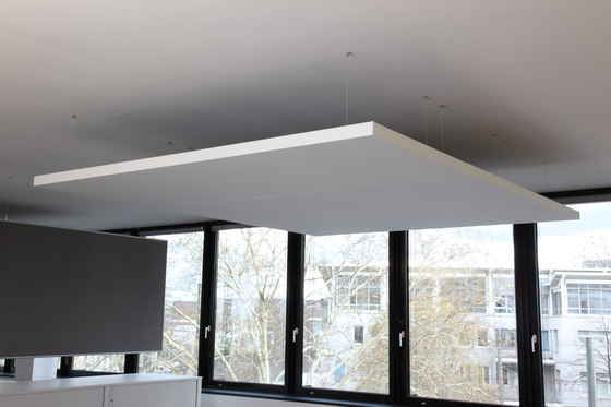 BaseLine│ceiling sail by silentrooms | Ceiling systems
