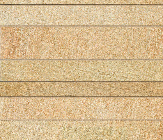 Tecnoquartz I Listone link hot sand von Lea Ceramiche | Außenfliesen