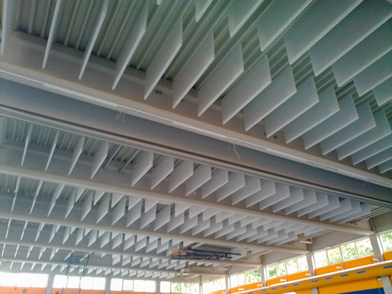 TecLine│baffle by silentrooms | Ceiling systems