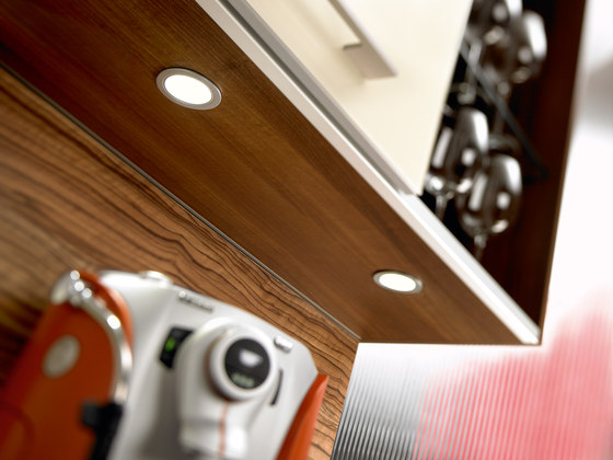 KB 12-LED - Recessed LED spotlight for installation in wood and metal by Hera | Recessed ceiling spotlights