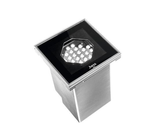 Teramo Q LED Faretto da incasso a pavimento di Hess | Illuminazione generale