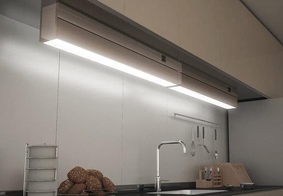 Memphis Under-Cabinet - Swivel and Tilt Under-Cabinet Luminaire by Hera   Under-cabinet lights