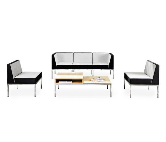 Cube by Martela Oyj | Modular seating elements