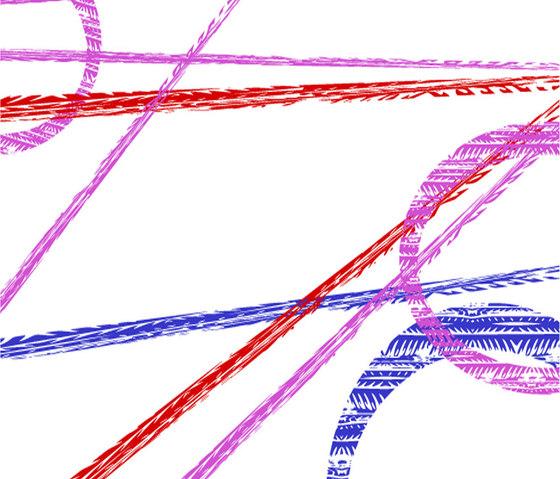 tela graph - motiv tired by tela-design | Wall fabrics