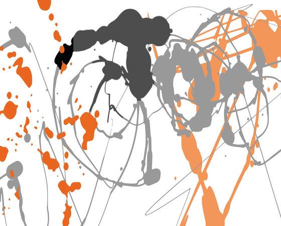 tela graph - splish splash by tela-design | Wall films