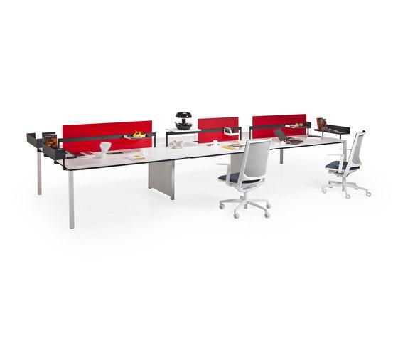 Barbari Operational Desk System de Koleksiyon Furniture | Bureaux