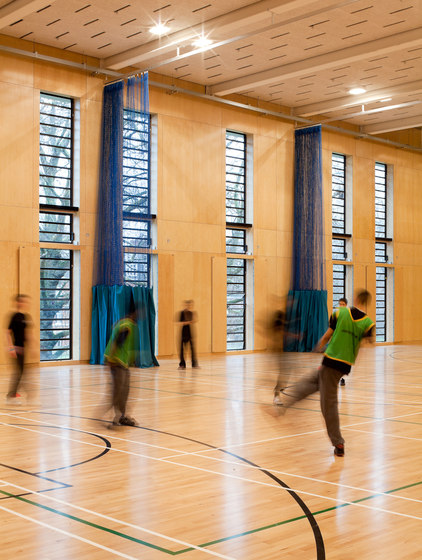 Applications | Westminister college di Troldtekt | Pannelli per parete
